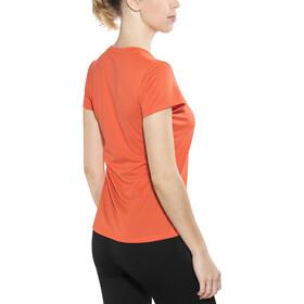 The North Face Reaxion Ampere Crew Shirt Women Nasturtium Orange